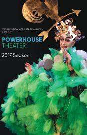 Powerhouse Theatre 2017 Season program cover