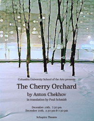 The Cherry Orchard - poster
