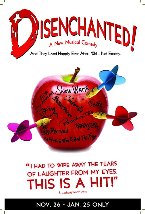 DISENCHANTED! flyer-front