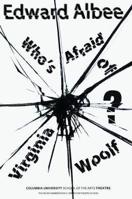 Edward Albee's Who's Afraid of Virginia Woolf - postcard